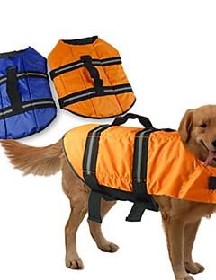 Dog Vest / Life Vest Blue / Orange Dog Clothes Summer / Spring/Fall Classic Waterproof Doglemi