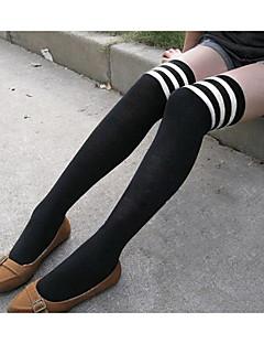 נשים פסים תפירת גרביים