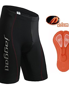 Jaggad Cycling Padded Shorts Women's Men's Unisex Bike Shorts Padded Shorts/Chamois Tights Bottoms Quick Dry Breathable Back Pocket 3D Pad