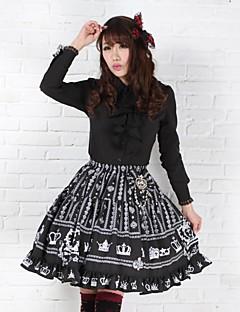 Black Pretty Lolita Fairy Royal Crown Princess Kawaii Skirt Lovely Cosplay