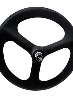 """Yanbo 20 """"BMX 50mm carbon tre snakket hjulsett clincher for road sykkel / Rear wheel (1 stk)"""