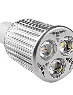 GU10 LED 9W projecteurs 3 haute puissance conduit 900 lm mr16 blanc chaud ac 85-265 v