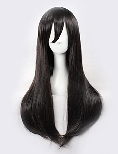Kagerou 프로젝트 아야노 블랙 코스프레 가발