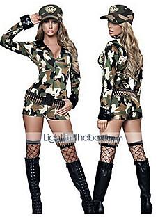 Sexy Soldat Roma-Mädchen Camouflage Frauen Uniform