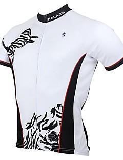 Le printemps et l'été de modèle 100% Polyester manches courtes vélo maillot de PaladinSport hommes