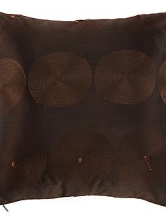 Poliéster Brown decorativa fronha Modern