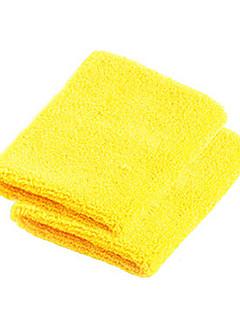 pulseiras Moto Respirável Vestível Resistente ao Choque Mulheres Homens Unissexo Amarelo Elastano Algodão Poliéster borracha