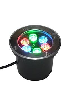 6 LED High Power RGB Underground Light AC85-265V