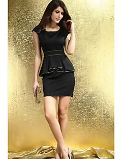 Verão elegante vestido de Slim Mulher