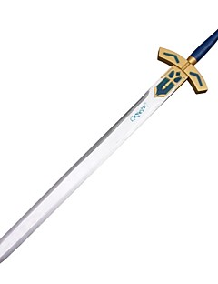 Cosplay Sword Inspired by Fate/stay night Saber Excalibur White One Piece