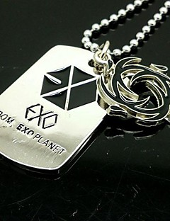 EXO SEHUN Wind Power Alloy Necklace