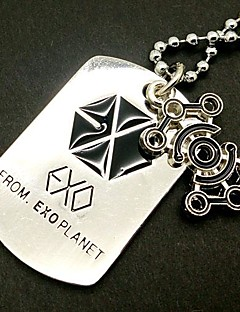 EXO LUHAN Idiodynamics Alloy Necklace