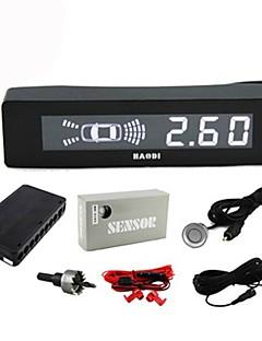 Parking Sensor with 8 Radar+LCD Display (Black)