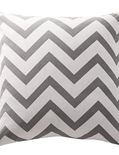 askgrå sparre bomullscanvas dekorativa kudde