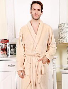 Bademantel, High-Class-beige Kleidungsstück weichen Bademantel verdicken