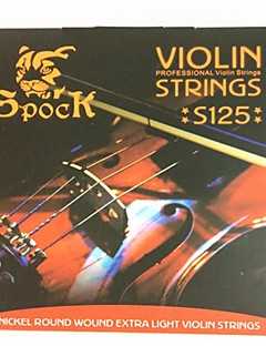 The Violin String S125 Aluminum And Magnesium Set for 4/4-1/8 Size Violin