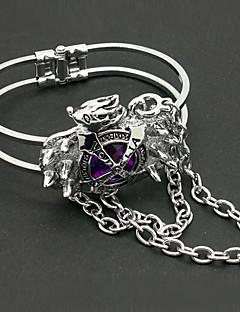 Jewelry Inspired by Reborn! Kyoya Hibari Anime Cosplay Accessories Bracelet Purple Alloy / Artificial Gemstones Male