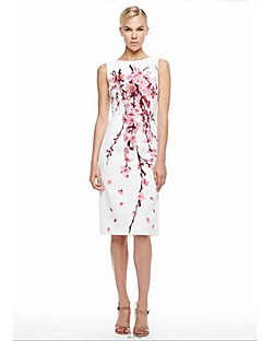 Women's Elegant Bodycon Floral Prints Dress