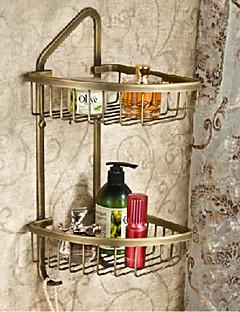 Antik Messing Finish Messing Materiale Shower Baskets