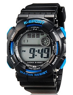Kids' Sport Watch Wrist watch Casual Watch Quartz LED Silicone Band Casual Black Brand