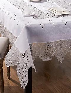 Nouveauté Table rectangulaire en tissu mélange de coton 67x102''