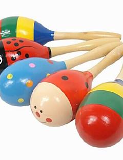 Bois Cartoon Music de Bell marteau de sable pour les enfants de jouets éducatifs
