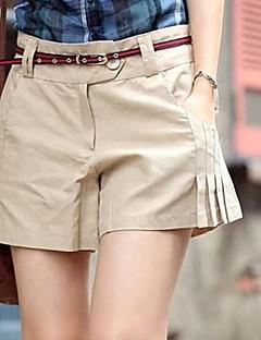 Tynn - Mikroelastisk - Shorts - Kvinners bukser (Bomull/Bomullsblandinger/Økologisk bomull)