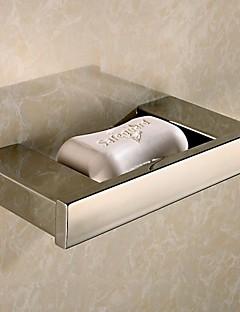 Sæbeskål Rustfrit stål Vægmonteret 19*9*3cm(7.5*3.6*1.2inch) Messing Moderne