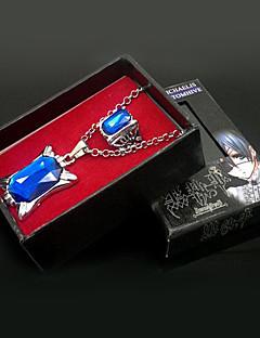 Šperky Inspirovaný Black Butler Ciel Phantomhive Anime Cosplay Doplňky Náhrdelníky / kroužek Biały Umělé drahokamy Pánský