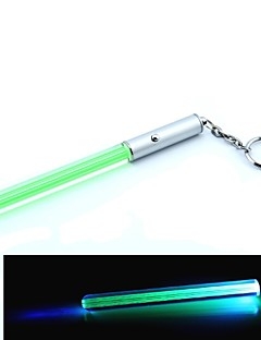 Mini Lightsabre LED Keychain (4 x AG3, Green)