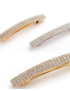 Diamante de cristal cheio de Diamante Hairpin