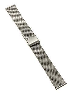 Heren Dames Horlogebandjes Roestvast staal #(0.047) #(16.5 x 2 x 0.3) Horlogeaccessoires