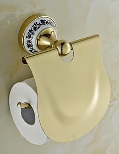 keramisk messing gyldne TI-PVD toiletpapir indehavere