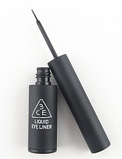 Black Waterproof Quick Drying Charming Liquid Eyeliner with Super Thin&Soft Brush