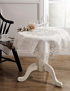 테이블 천 고전적인 자수 식탁보 85 * 85cm