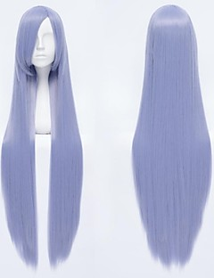 Virgilia Beatrice/Gintama Sarutobi Ayame Silver Violet Cosplay Wig