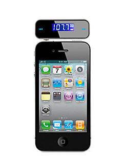 Multifunktionelt bil Handsfree FM Transmitter til iPhone Samsung mobiltelefoner