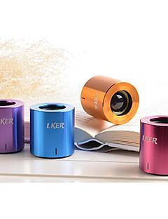 ワイヤレスBluetoothスピーカー 1.0 CH 携帯式 / 屋外 / ミニ / ステレオ / 超低音