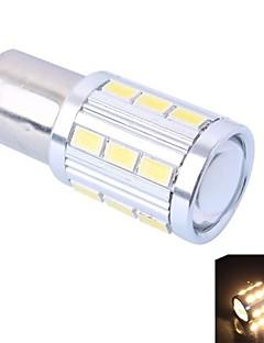 1156/BA15 4W 220LM 21x5730 SMD Warm White/White LED (DC12-24V,1Pcs)