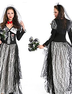 Ghost Bride Black Adult Women's Halloween Costume