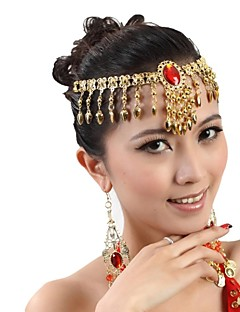 Belly Dance Women's Fashion Metal Tassel Multi-Purpose Necklace