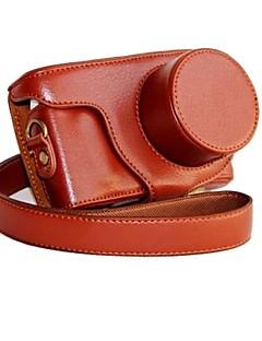 dengpin® læder aftagelig beskyttende kamerataske taske Cover til Samsung NX mini nxf1 med 9-27mm linse