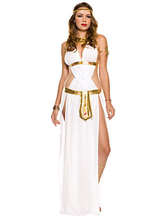 Gorgeous Ancient Egyptian Queen Cleopatra Golden And Black Terylene Halloween Costume