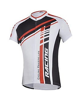 CHEJI Men 's Personality High Quality Ultraviolet Resistant And Breathability Terylene Short Sleeve Cycling Jersey
