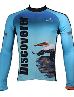 PALADIN® Cycling Jersey Men's Long Sleeve Bike Breathable / Quick Dry / Ultraviolet Resistant Jersey / Tops 100% PolyesterAnimal / Nature