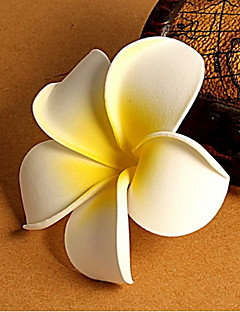 Unisex Seaside Beach Resort Frangipani Flowers Bridal Hair Accessories