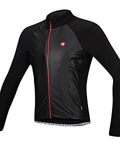 SANTIC Jaqueta para Ciclismo Homens Moto Jaqueta Camisa/Roupas Para Esporte Impermeável Térmico/Quente A Prova de Vento Forro de Velocino