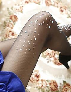 Women Warm Pantyhose , Polyester/Spandex/Core Spun Yarn