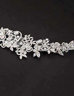 Dame Platin Medaljon Bryllup/Speciel Lejlighed Blomster Bryllup/Speciel Lejlighed