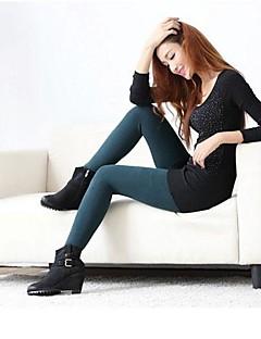 moda feminina de alta elástica manter o frio nove minutos de calças